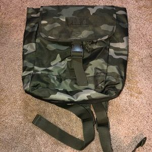 PINK VS NWOT Army/Camouflage Miniature Backpack